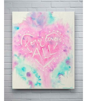 Love Covers All - Wall Art