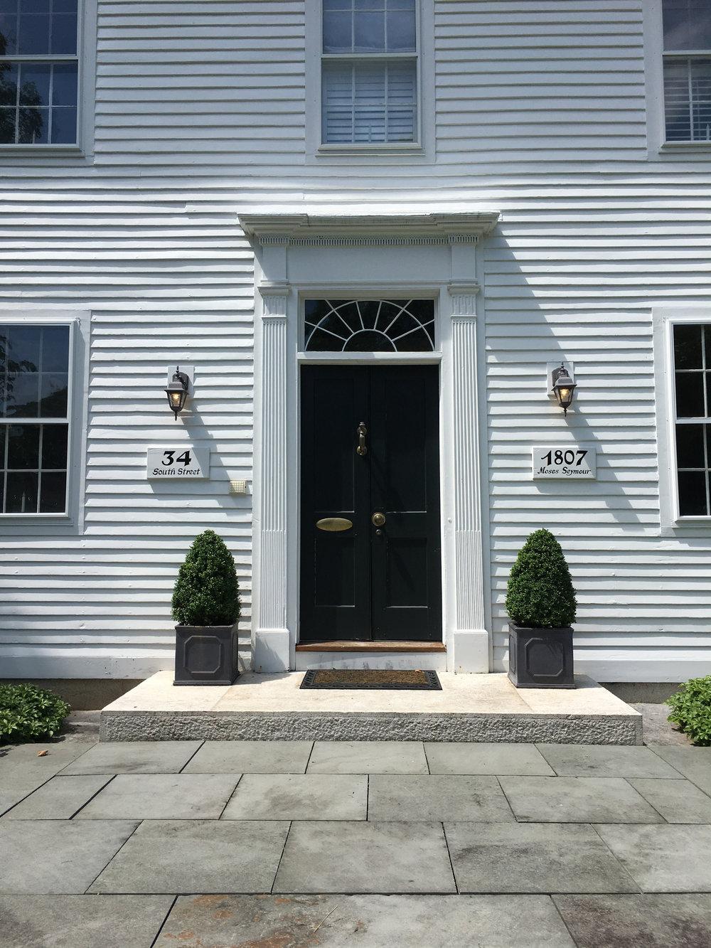 1807.Ozias Seymour House Door. Marla Patterson.jpg