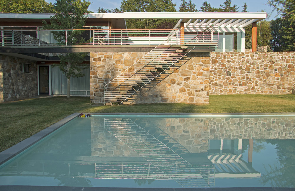 1954.Marcel Breuer House.South Pool View. Robert Gregson.jpg