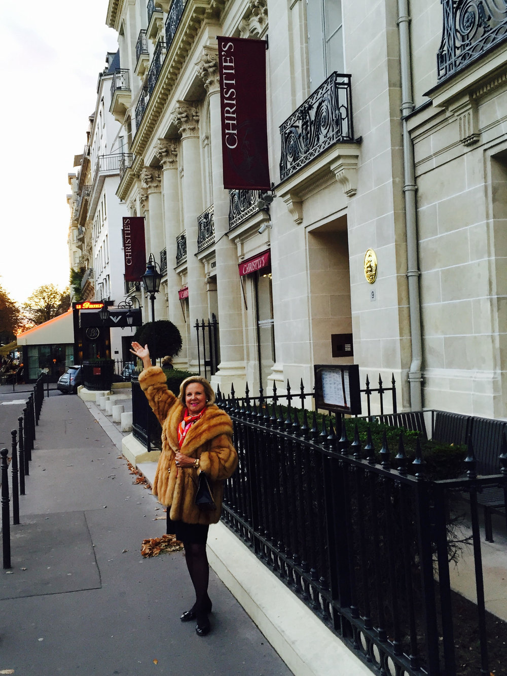 At Paris Christie's