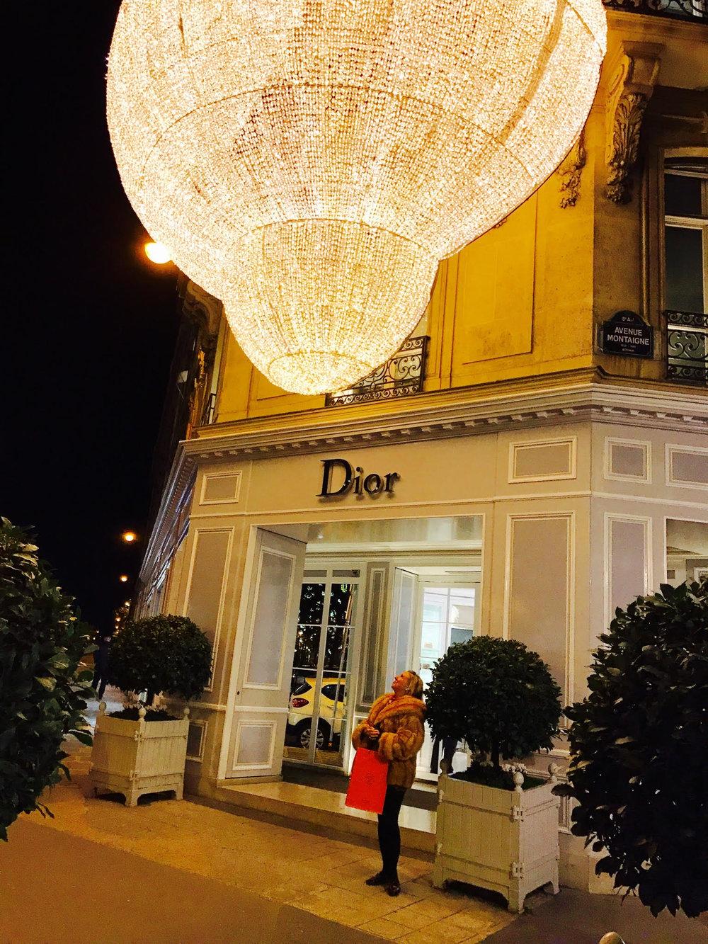 Dior at Christmas