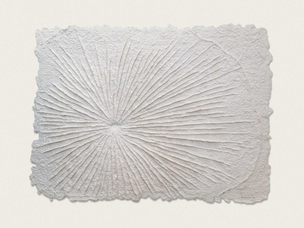 'Still Life II'  Hand formed paper - 45cm x 57cm