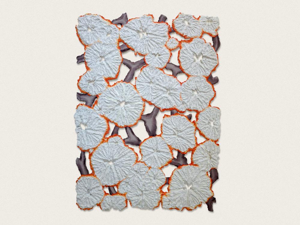 ;Symbiotica'  Quarelle on handmade paper - 65cm x 47cm