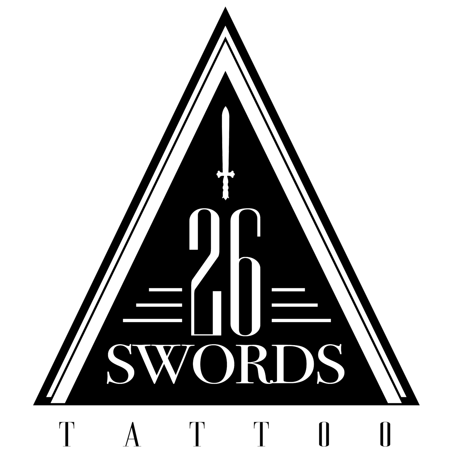 Twenty Six Swords Tattoo