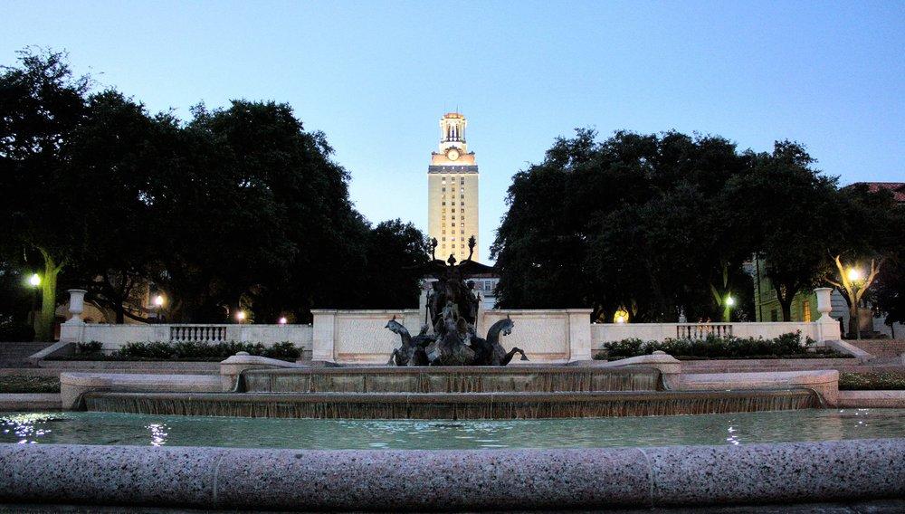 University of Texas Motto:  Disciplina praesidium civitatis  - A cultivated mind is the guardian genius of democracy.