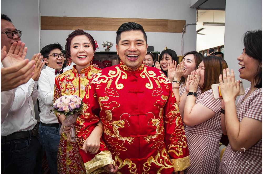Haw Chen & Sai Wai   A series of Chinese actual wedding day photography for Sai Wai & Haw Chen on 30/09/2018. Assisting WD Production.