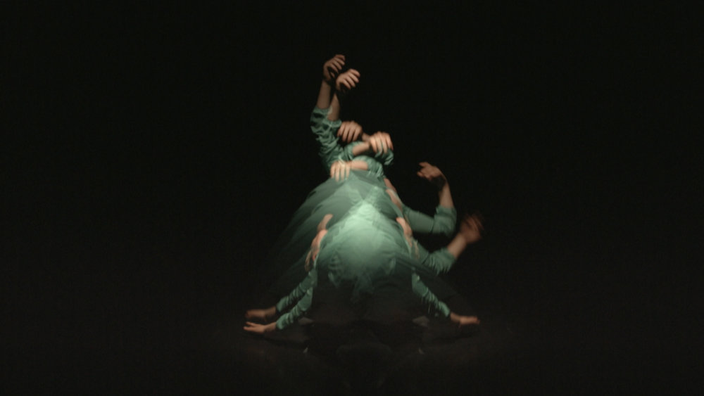 Still from the video installation   The Mind is a Muscle
