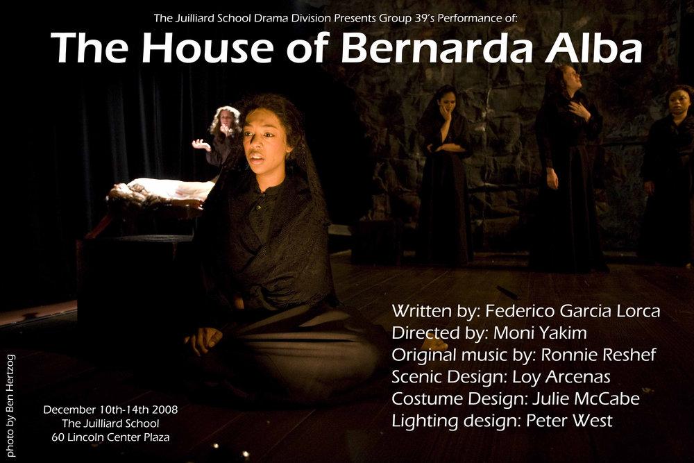 The House of Bernarda Alba - Juilliard Drama School