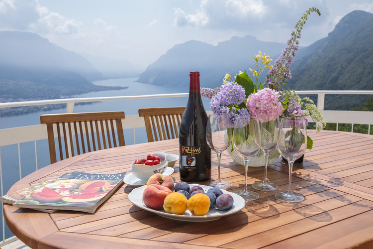 Villa Ponti Above Bellagio lake Como