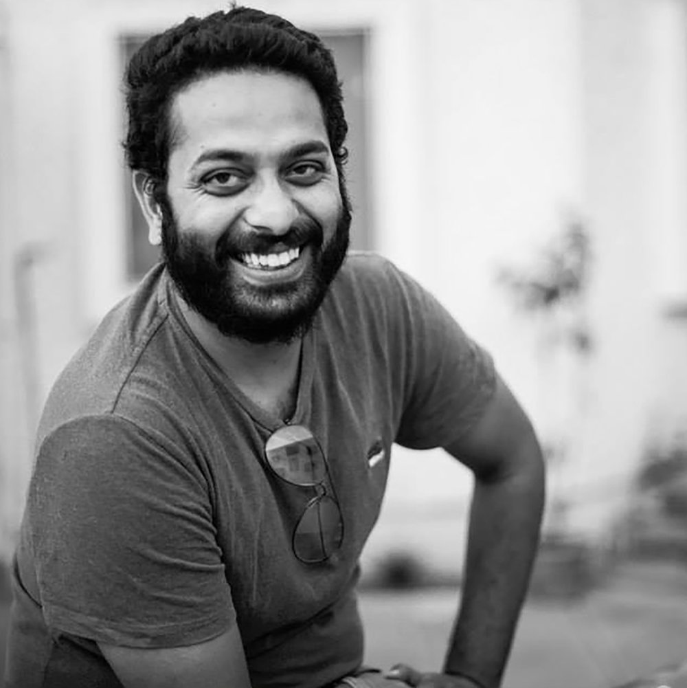 ROHIT JAMES  Filmmaker  Visual storyteller.  Everything between Books + Films.  Proud father of two lhasa's - Riyu and Ken.     @rohit.james