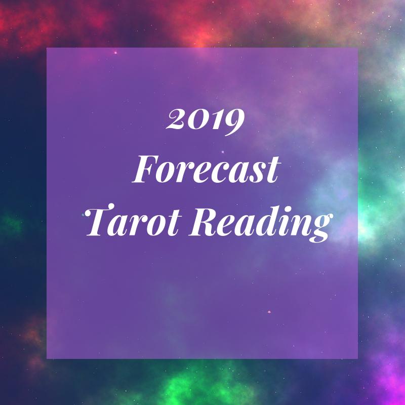 2019 Forecast Tarot Reading