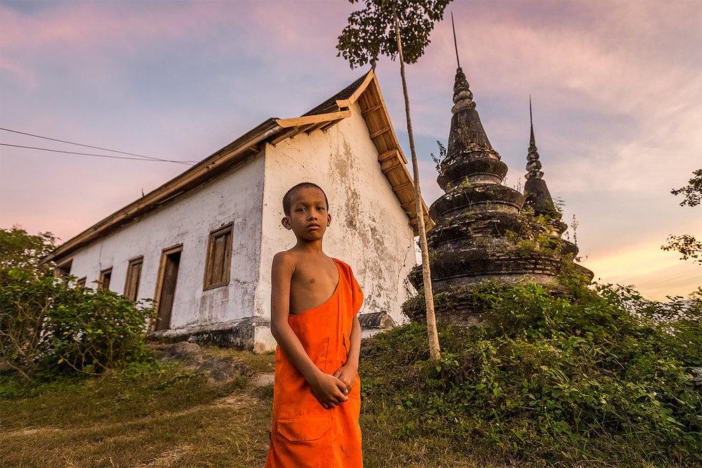 Wat Chompet Luang Prabang Laos
