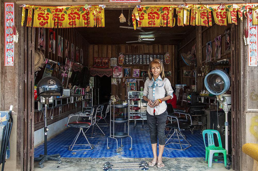 Hair Dressers Pailin Cambodia