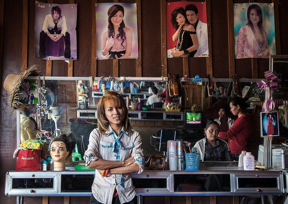 Hair Dresser Pailin Cambodia