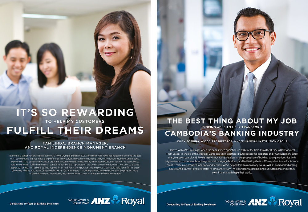 ANZ Royal Staff