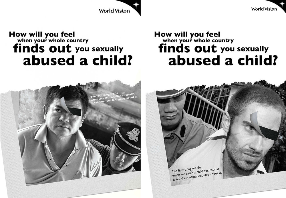 World Vision child abuse campaign
