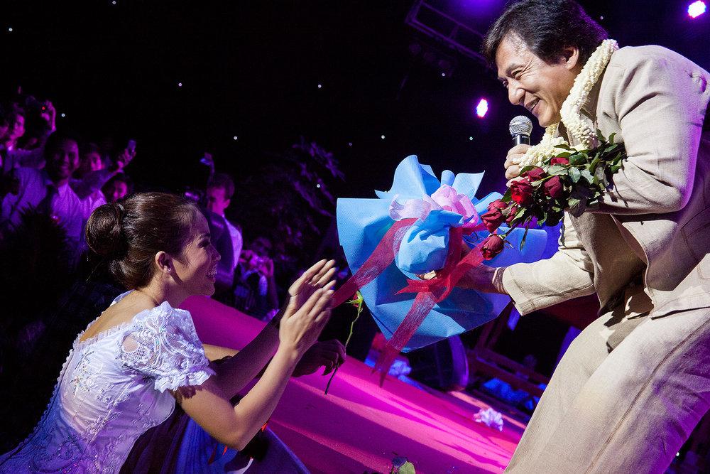 Jackie Chan, SEA TV, Phnom Penh Bridges Int. Peace Foundation