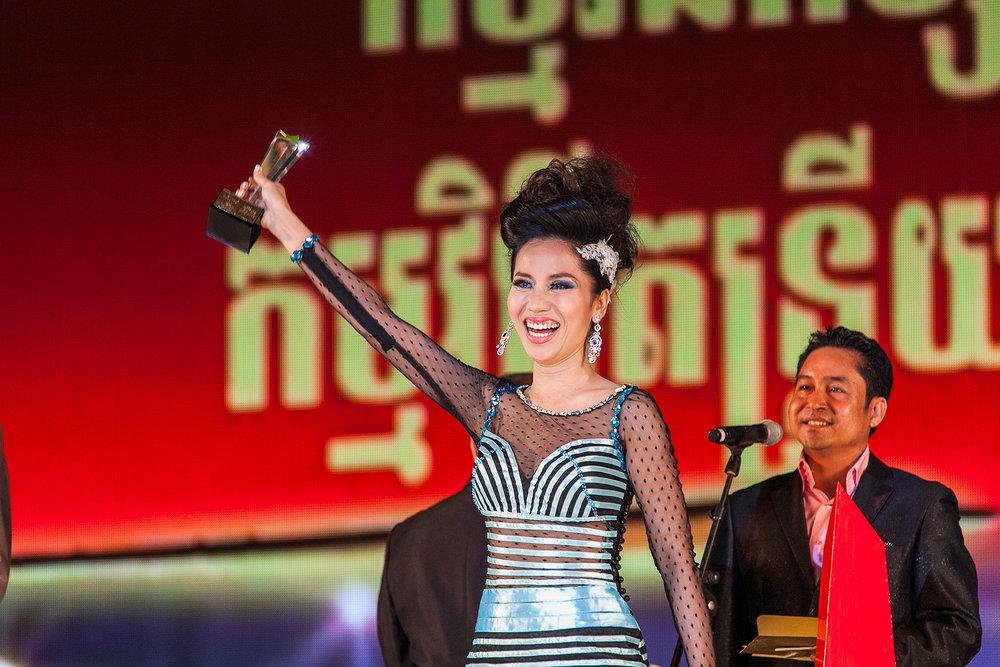 Yok Chinda, Cambodian Oscars Phnom Penh