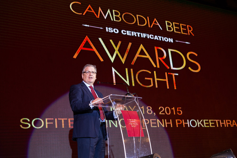 Cambodia Beer CEO, ISO Award Party, Sofitel Phnom Penh