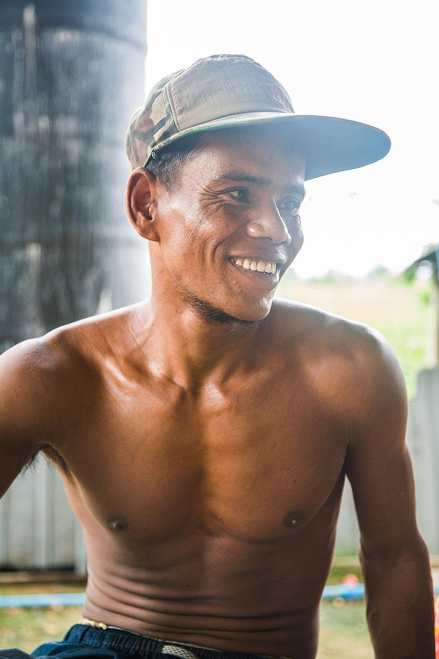 Hourn Farmer Kandal Cambodia