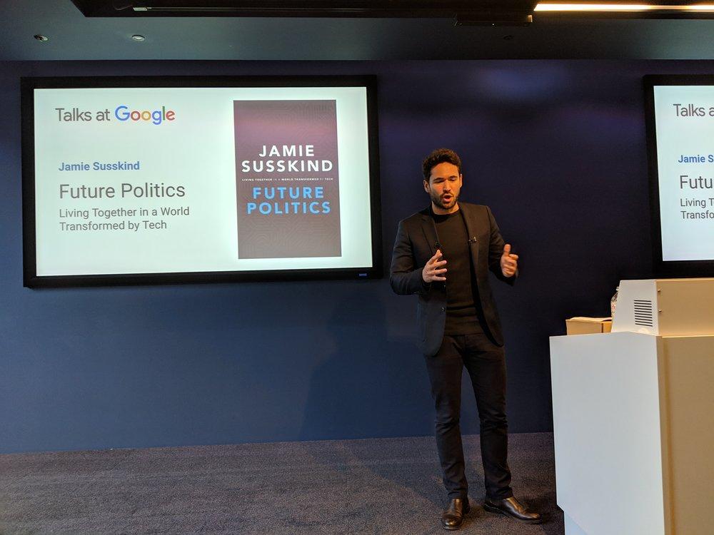 Google Talk, London, 2018