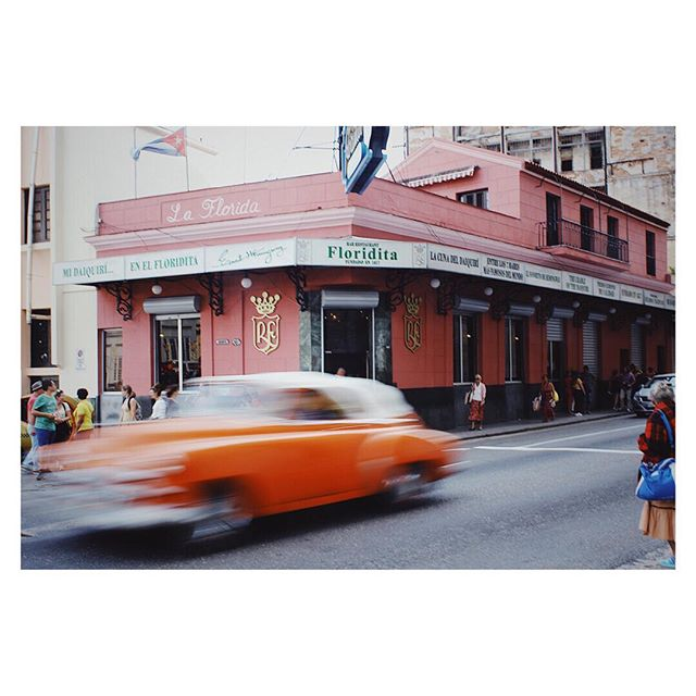 { Cuba | Drink } With 200 years of fascinating history, we don't think there's another bar in existence that can claim a story as long, varied, and rich as the legendary El Floridita.