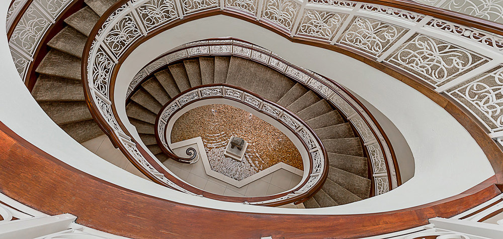 Staircase, Ame Spa & Wellness, Turnberry Isle Miami