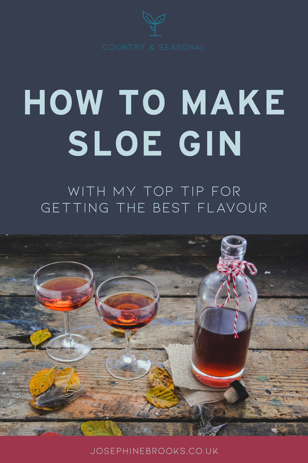 How to make sloe gin - with my top tip for getting the best flavour - sloe gin recipe, foraged slow gin, homemade slow gin