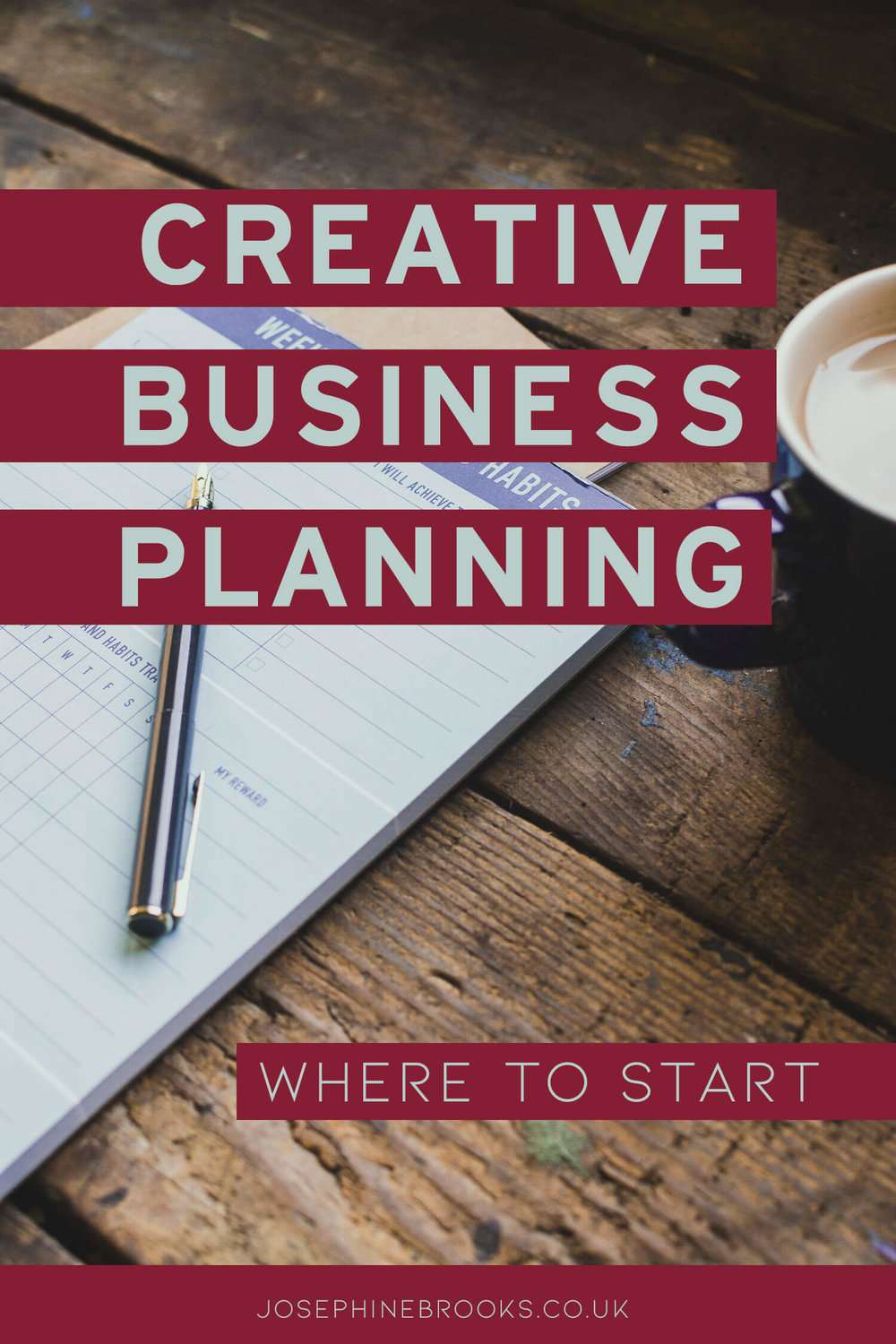 My top tips for creative business planning - creative business planning tips, setting business plans, handmade business planning