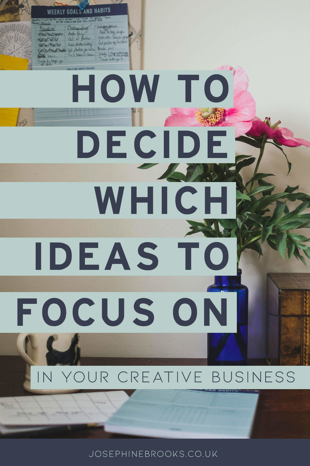 How to decide which ideas to focus on in your creative business, Where to focus in creative business, Dealing with overwhelm in business, Maker business focus areas