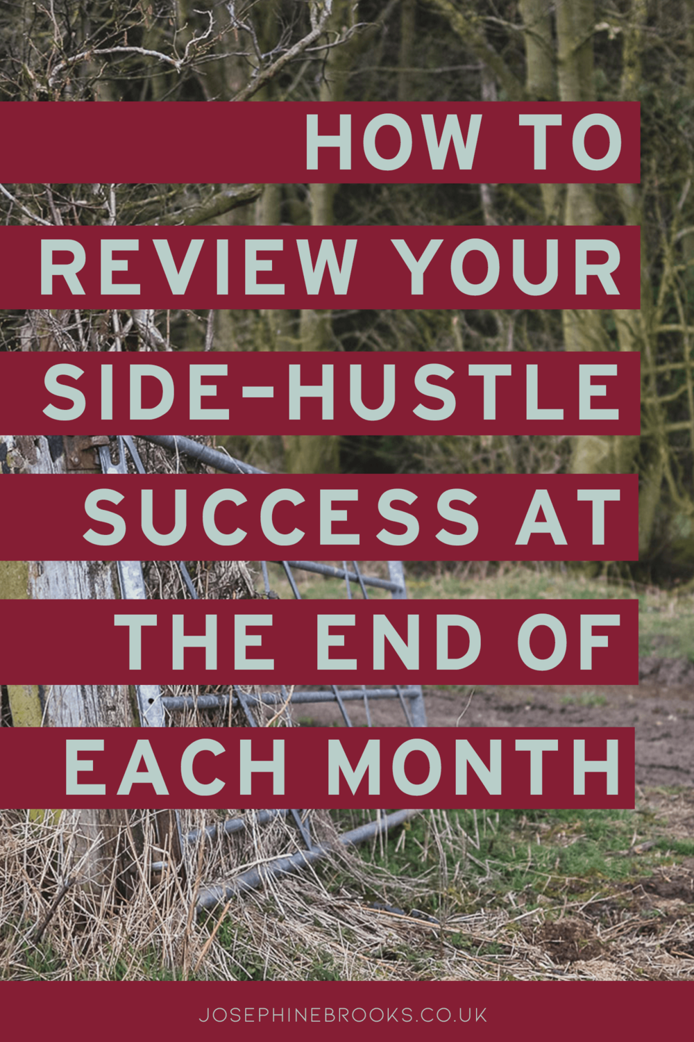 How to review your side hustle success at the end of each month, Recording side-hustle progress, Reviewing a small business