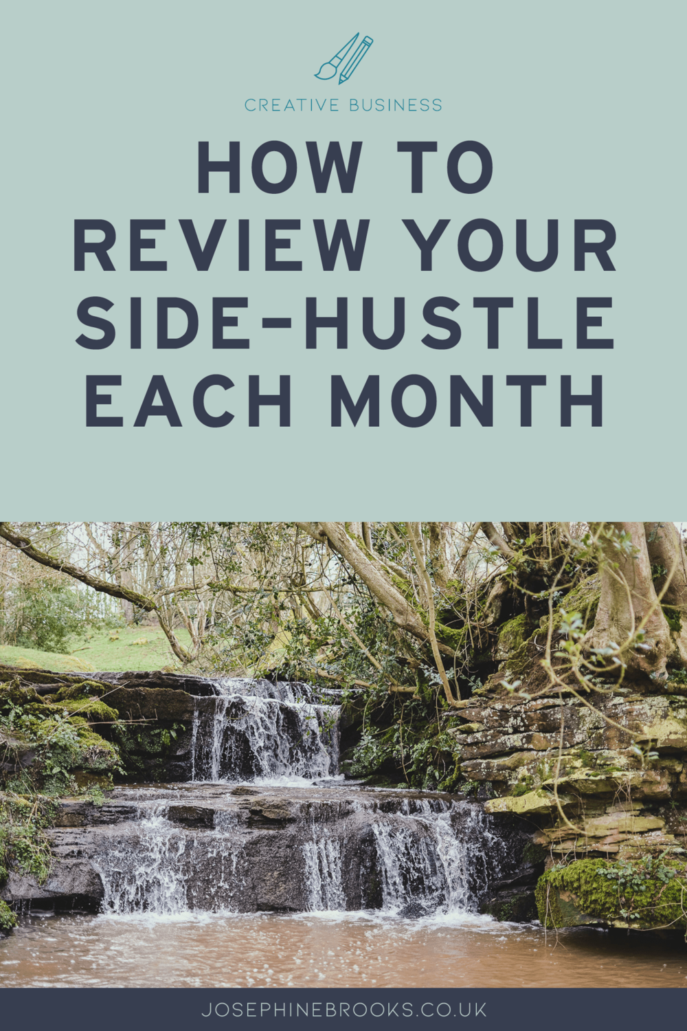 How to review your creative business goals and progress at the end of each month