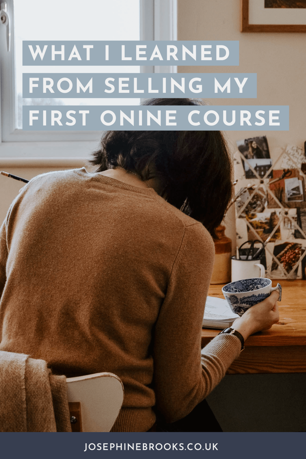 What I learned from selling my first online course