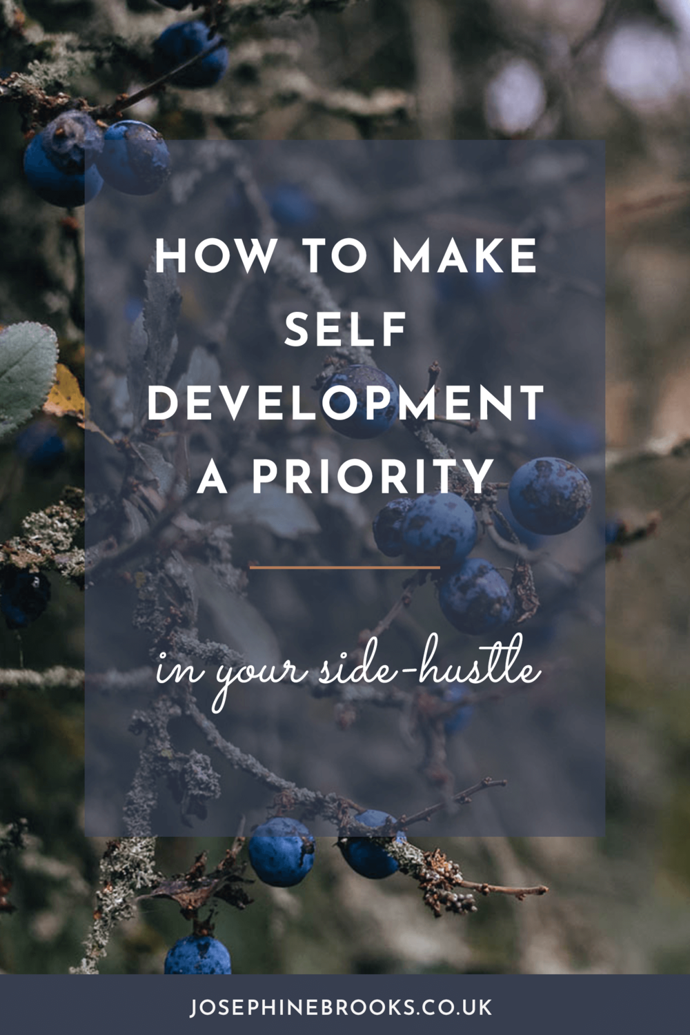 Why Prioritising your own self development is so important for side-hustlers, finding a business coach or mentor