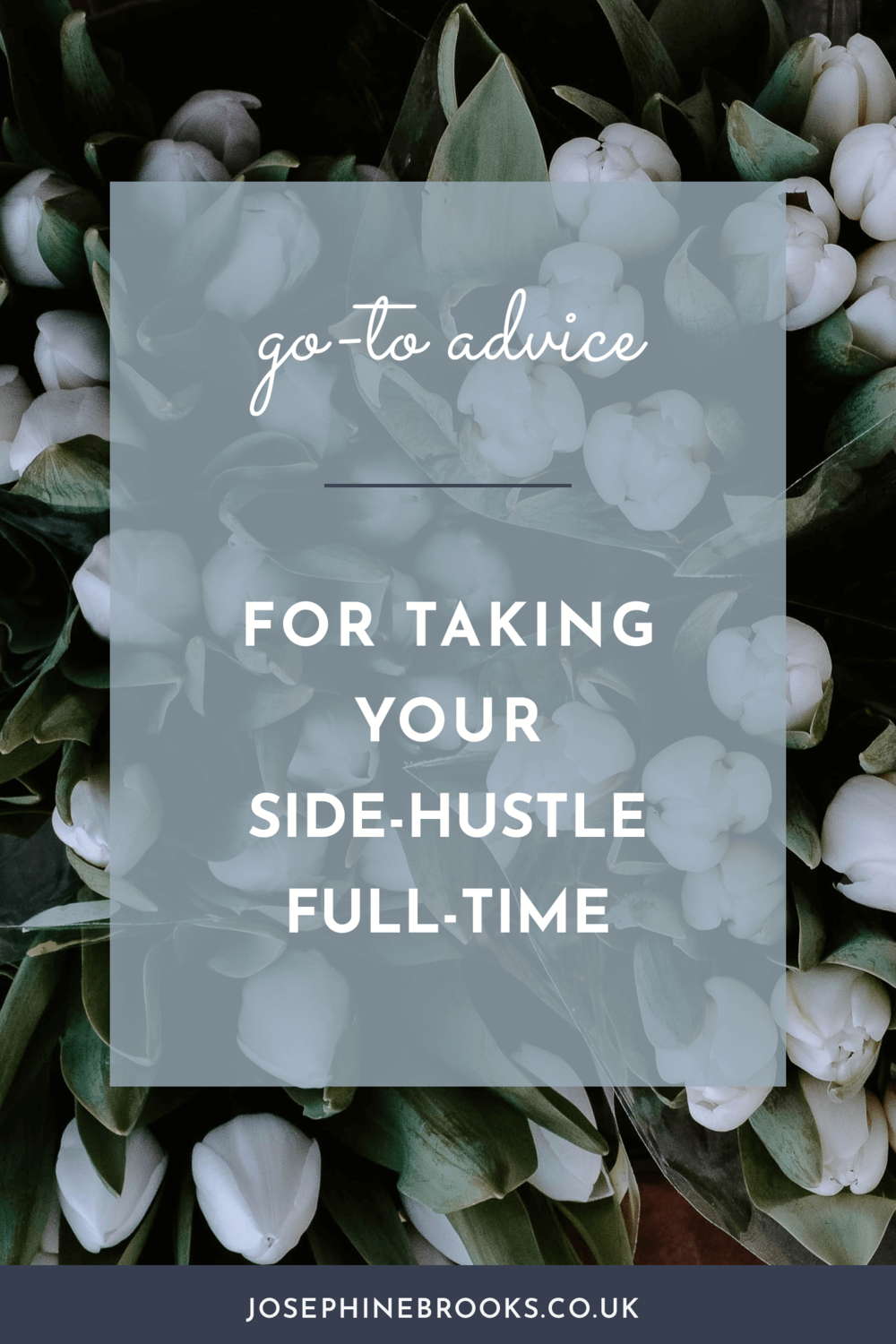 Go-to advice for taking your side hustle to full time
