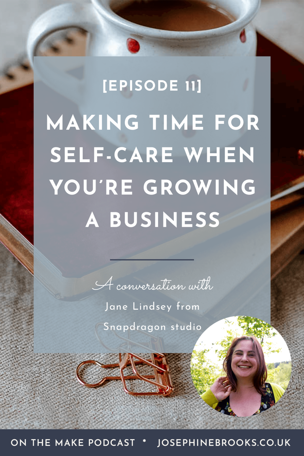 Making Time for Self-Care when you're growing a business, how to start living a slower lifestyle when you're building a business, Managing Addison's disease when you have a business