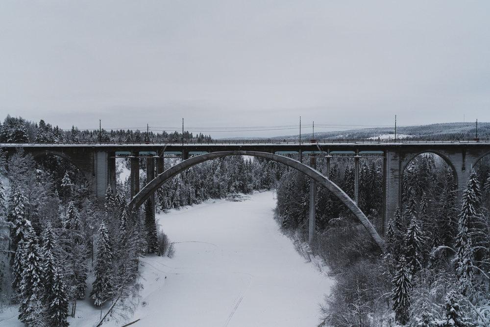 Tallbergsbroarna+Norrland+Umeå