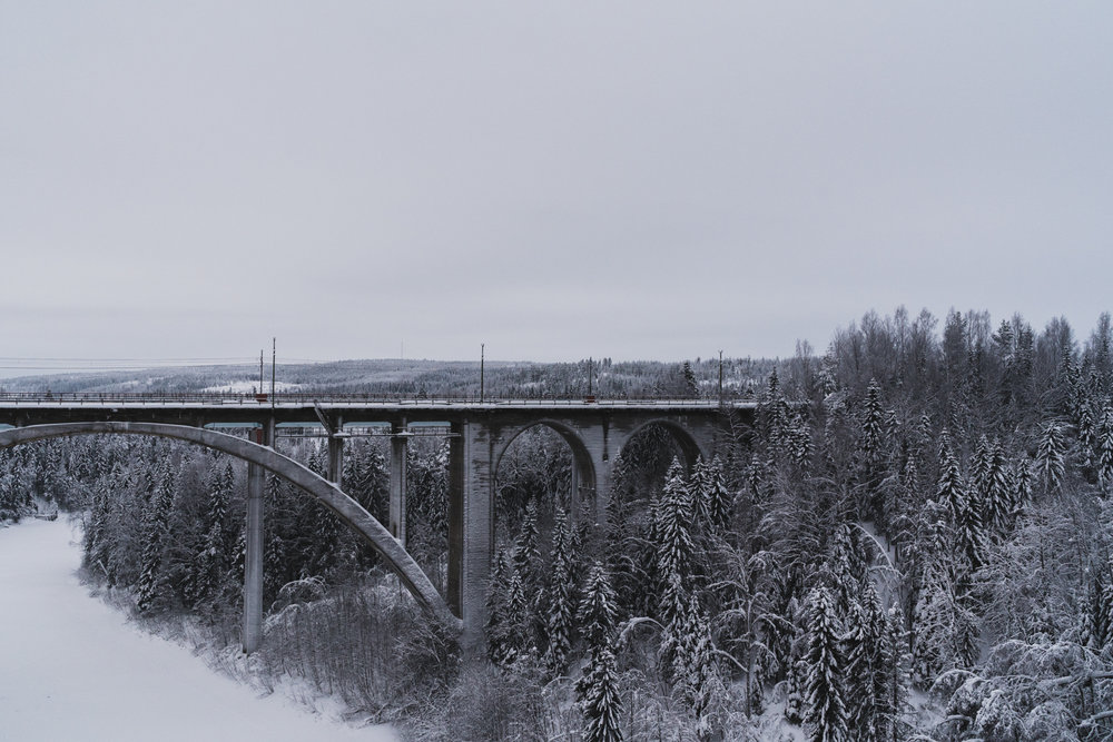 Tallbergsbroarna+Umeå+Norrland