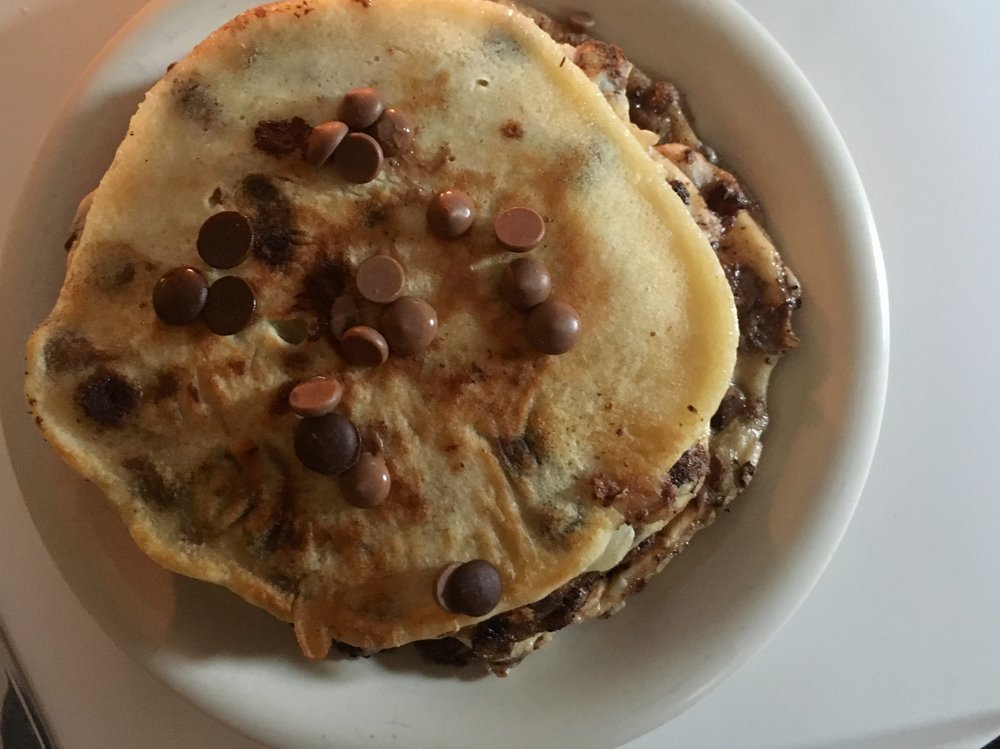 chocolate+chip+pancakes+amerikanska+pannkakor