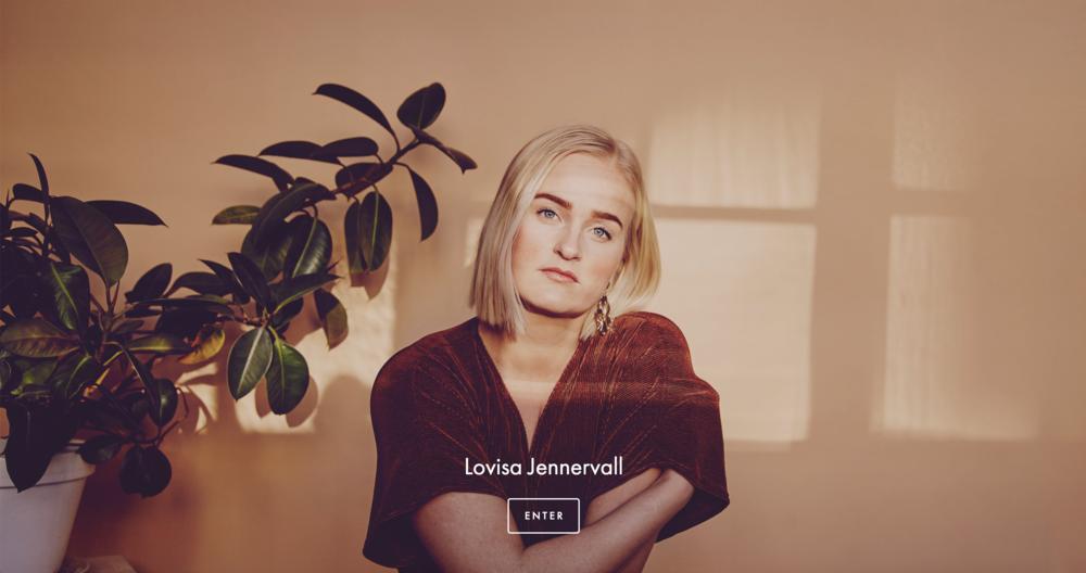 lovisa jennervall+webbdesign
