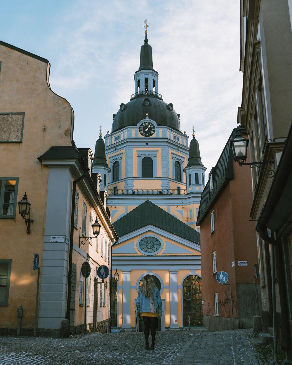 södermalm+katarina kyrka