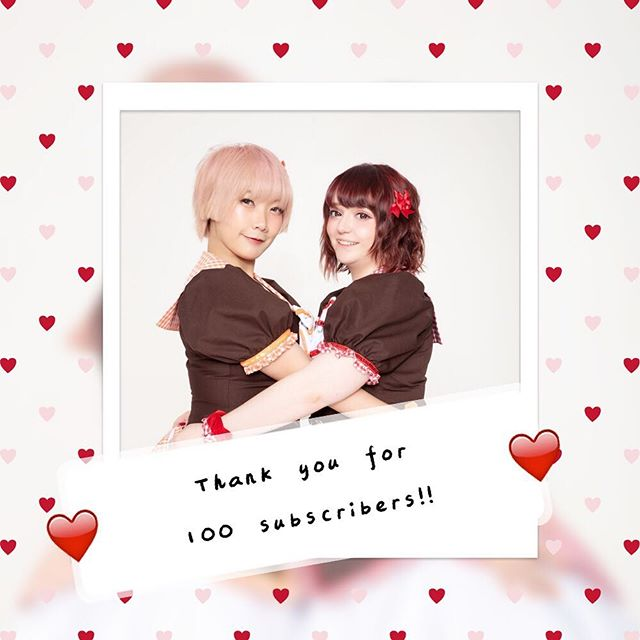 Thank you so much for 100 subscribers! We're so grateful for your support! http://youtube.com/c/chekiss 