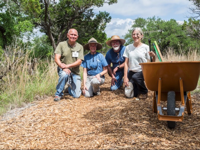 Jacobs Well Natural Area Restoration Rangers