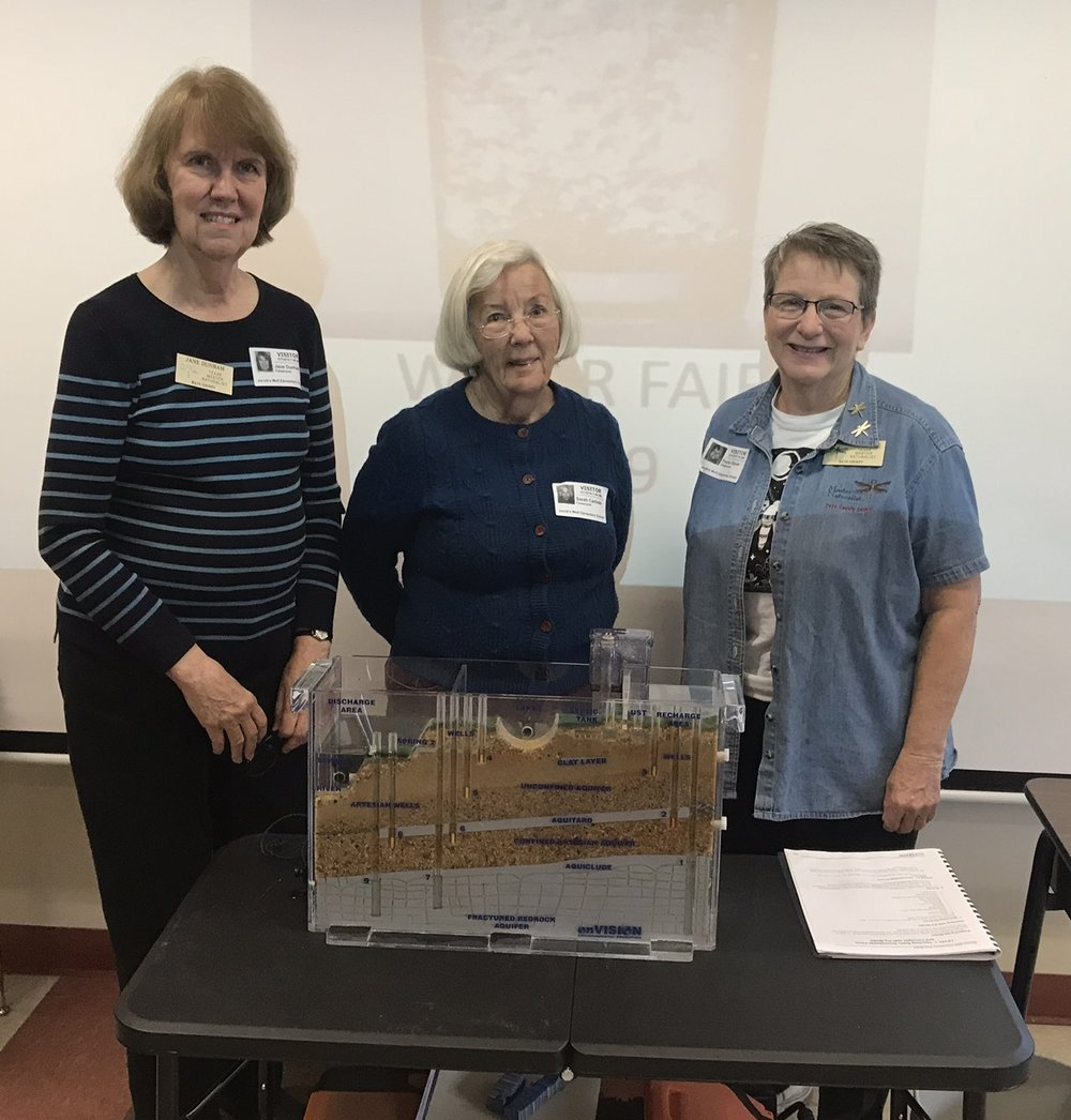 Jane Dunham, Sarah Carlisle, Paula Glover
