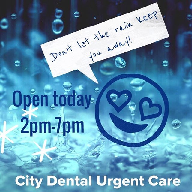 Call 803-764-3320 to check-in and save your place in line! Walk-ins also welcome. * If you have a different regular dentist, but need immediate attention today, we will gladly send your treatment notes and x-rays back to your dentist for your chart. * Stay warm! 😄