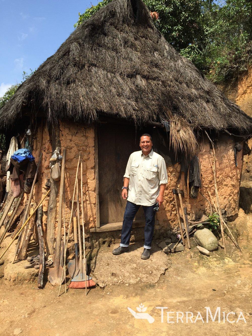Patrick, hut, MEX 2015