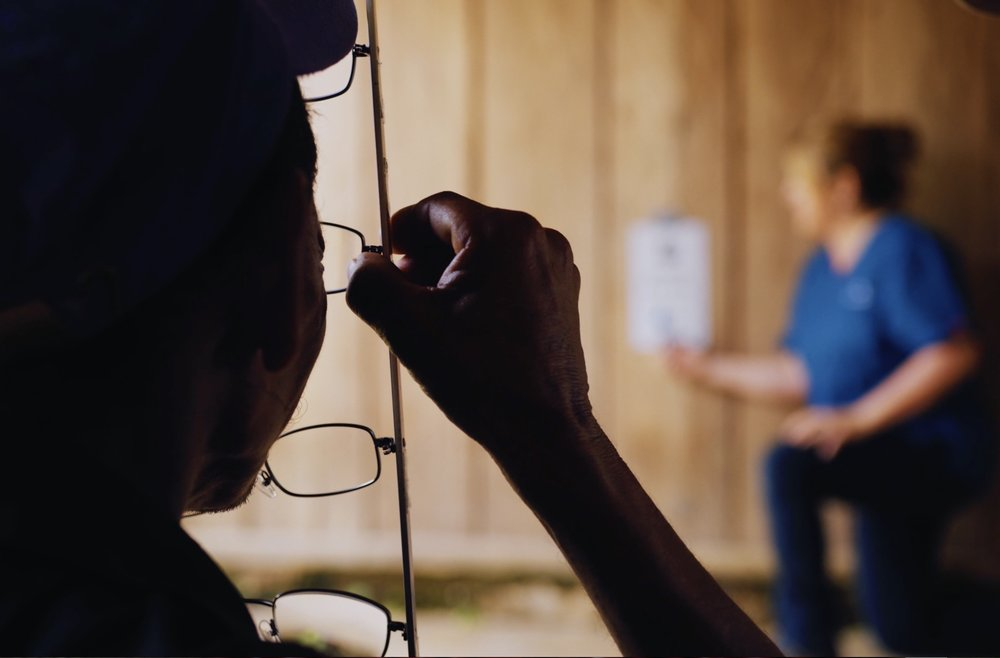 Vision Clinic, Testing Eyesight