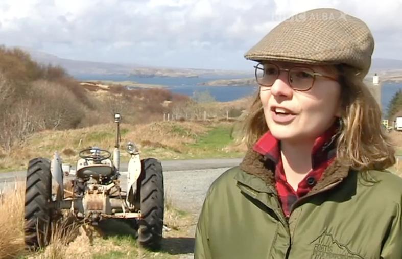 Julia Stoddart on BBC Alba