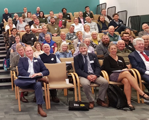 Some of the attendees at Battleby