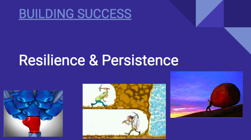 Building Success: Resilience & Persistence